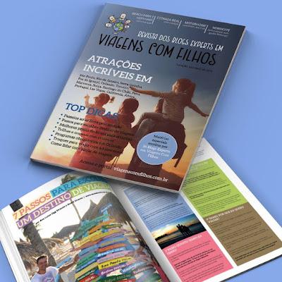 revista viagens com filhos