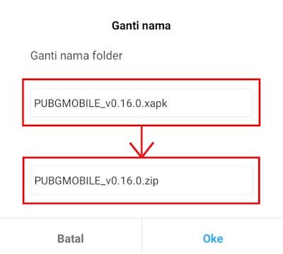 Cara Instal XAPK PUBG mobile