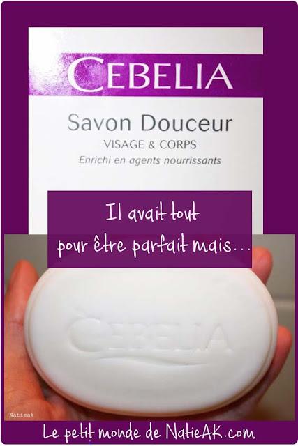 Savon douceur Cebelia visage et corps
