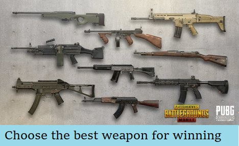PUBG Mobile Weapons Guide – List & Stats