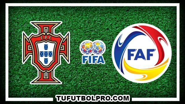 Ver Portugal vs Andorra EN VIVO Gratis Por Internet Hoy 7 de Octubre 2016