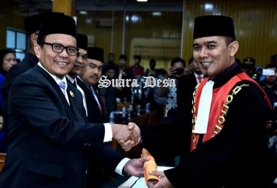 H Khairul Umam Resmi Dilantik Menjadi Ketua DPRD Kabupaten Bengkalis