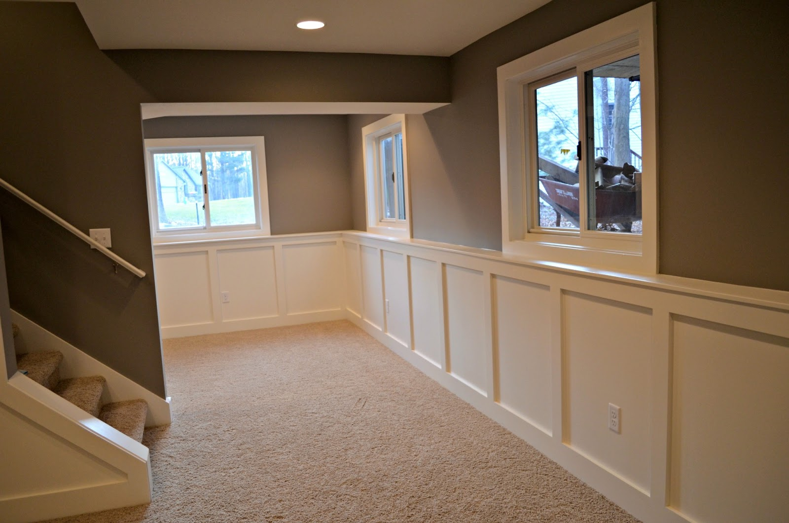 Color Schemes For Basement Family Room
