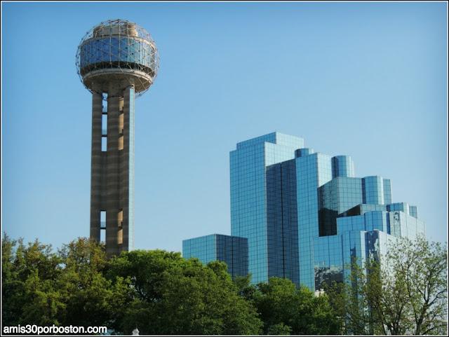 Lugares Turísticos y Atracciones en Dallas: Reunion Tower