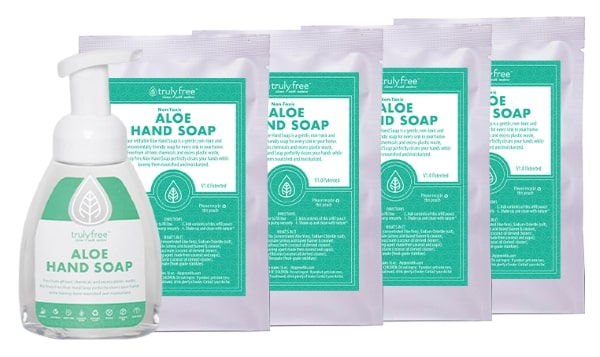 Ideas for adult stocking stuffers - foaming hand soap and hand soap refills