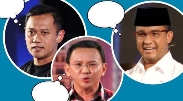 Agus, Ahok dan Anies Jangan Sampai Blunder di Debat Final
