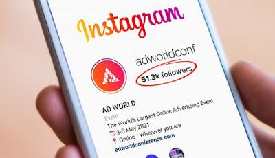Cara menambah followers Instagram 50 ribu gratis