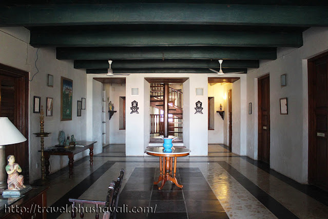 Neemrana Bungalow on the beach Tranquebar Lobby Reception