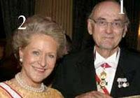 Dimitri Romanovich Romanoff et sa deuxième épouse.
