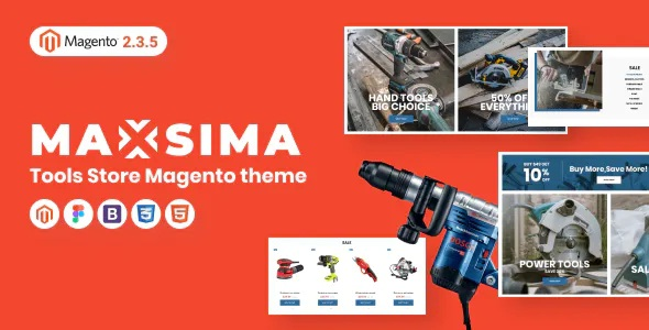 Best Tools Store Magento 2 Theme