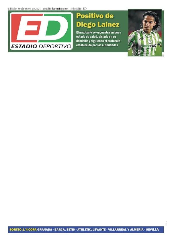 "Betis, Estadio Deportivo: ""Positivo de Diego Lainez"""