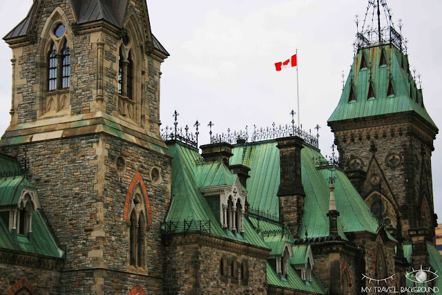 My Travel Background : 4 jours au Canada, la Colline du Parlement à Ottawa