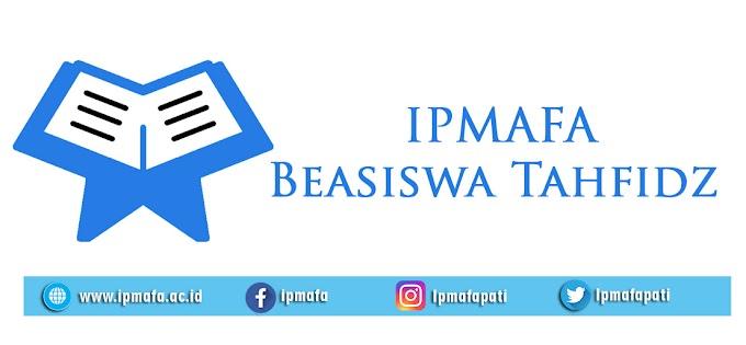 Pengumuman Hasil Ujian Beasiswa Tahfidh Ipmafa Semester Ganjil 2019