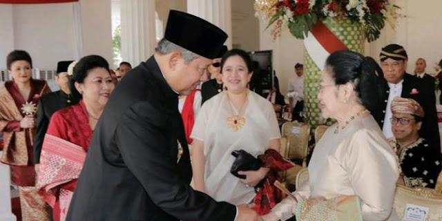 Ini Tafsir Pertemuan Megawati dan SBY