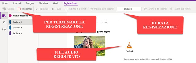 registrazione-audio-onenote