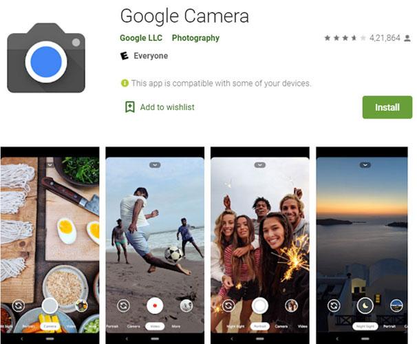 Google Camera App (GCam)