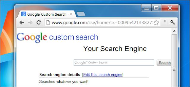 Apa itu Google Custom Search Engine ?