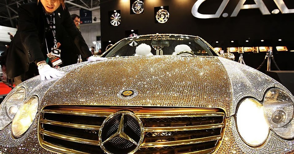 la mercedes sl600 diamond la voiture tun e la plus ch re au monde. Black Bedroom Furniture Sets. Home Design Ideas