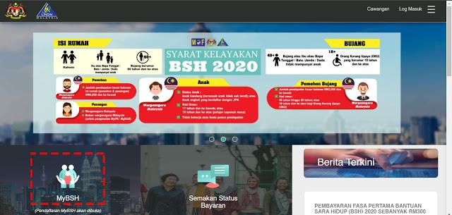 Panduan Lengkap Permohonan Baru Dan Kemaskini BSH Bermula 1 Februari 2020