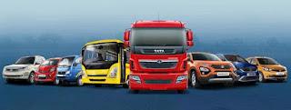 Tata Motors service van