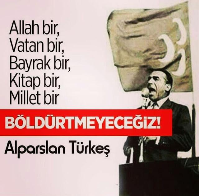 üç hilal, bayrak, türk bayrağı, türk, türkiye, vatan, alparslan türkeş, türkeş, başbuğ,