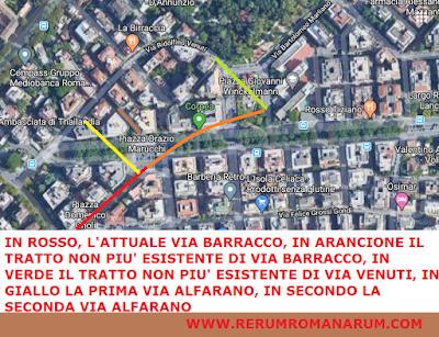 Via Tiberio Alfarano spostamento