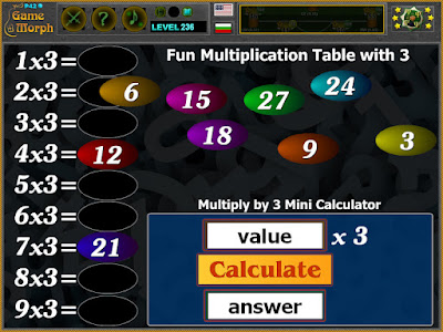 Multiplication Table 3 Times