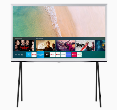 Samsung The Serif Series 4K Ultra HD Smart QLED TV QA49LS01TAKXXL   Right Fit for Your Style