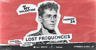 LOST FREQUENCIES en Colombia (Be My Valentine)