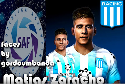 PES 2020 Faces Matías Zaracho by Gordoumbanda