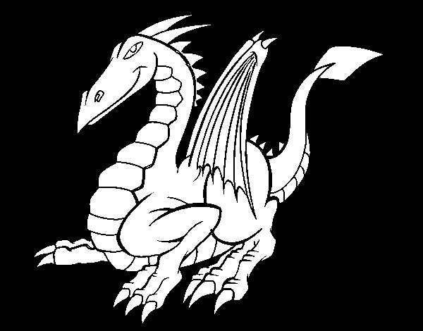 Blog Megadiverso Dragones Para Colorear Y Descargar