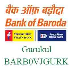Vijaya Baroda Ahmedabad‐Gurukul Branch Ahmedabad New IFSC, MICR