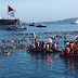Petinggi TNI dan Kapolri Sapa Penyelam di Pantai Manado