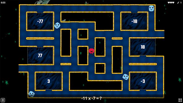 Multiplying Integers Online Game