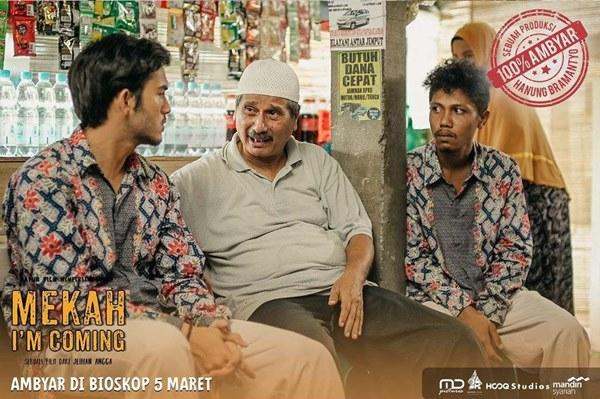 Review Film Mekah I'm Coming, Sajian Komedi Seru dan Absurd