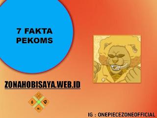 Fakta Pekoms One Piece