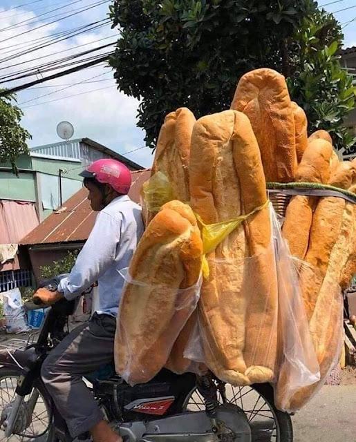 Big bread delivery