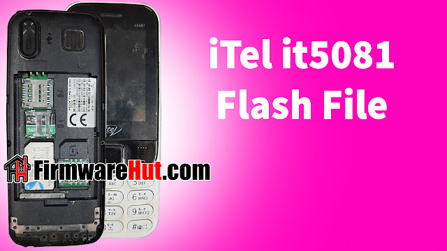 iTel it5081 3SIM Flash File SC6531C Tested (Stock Official Rom)