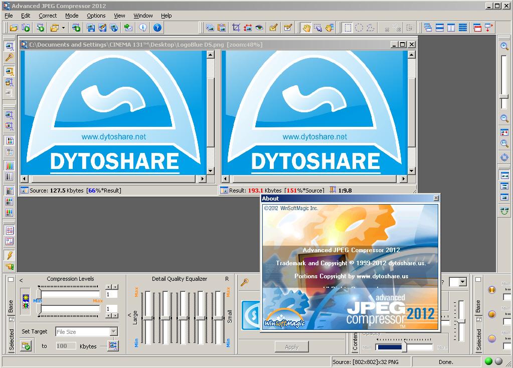 Download Advanced JPEG Compressor