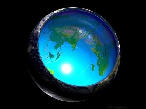 الأدلة العلمية والجيولوجية والكونية التي تثبت أن الأرض مجوفة من الداخل ..!!
