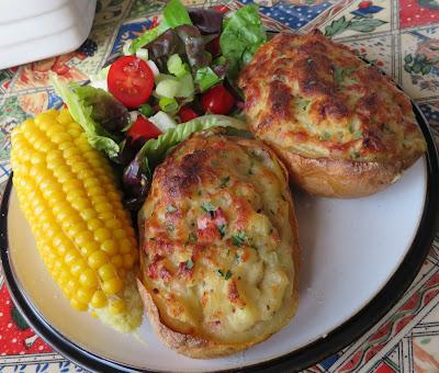 Roussillon Baked Potatoes