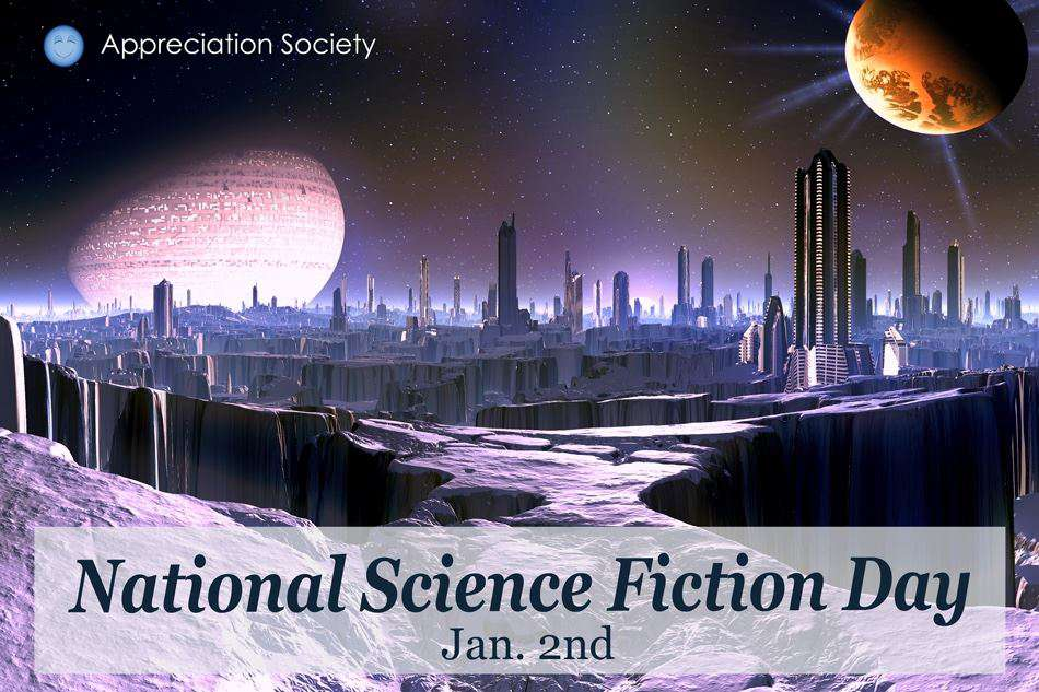 National Science Fiction Day Wishes For Facebook