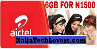 airtel 6gb for 1500 bundle offer