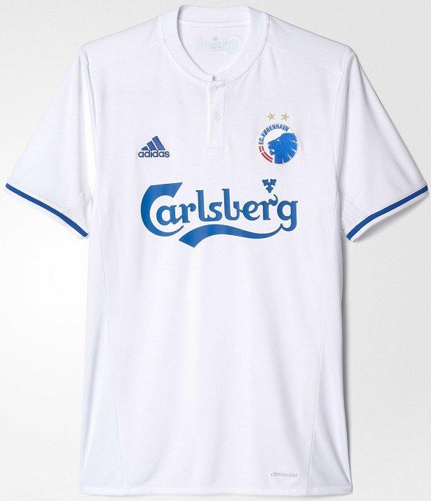 O FC Copenhagen apresentou os novos uniformes que será usado na temporada  2016 17 no Campeonato Dinamarquês de futebol. Fabricada pela Adidas 2cb153654073a