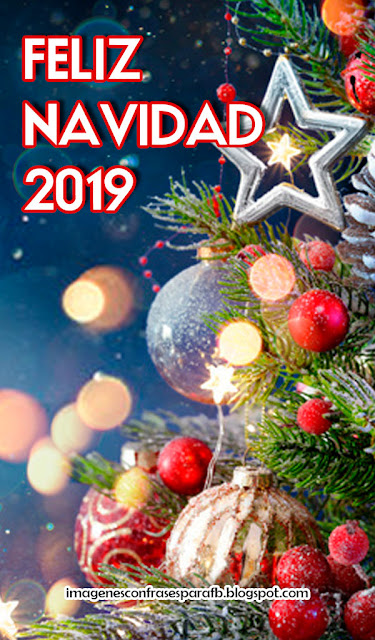 50 Imágenes de Frases de Feliz Navidad 2019