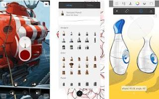 Aplikasi Terbaik Untuk Menggambar di Android - SketchBook