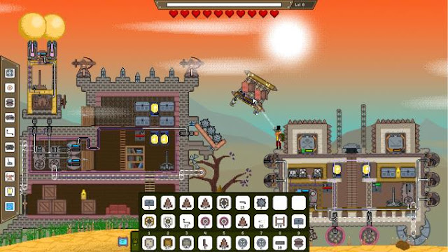 Mechanic Miner is a game project created in the genre of a simulator, where you will go to a two-dimensional world to fight for your own life