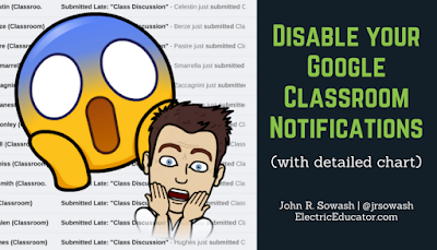 Disable Google Classroom Notifications