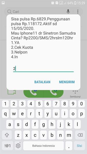 Cek Kuota Internet Telkomsel