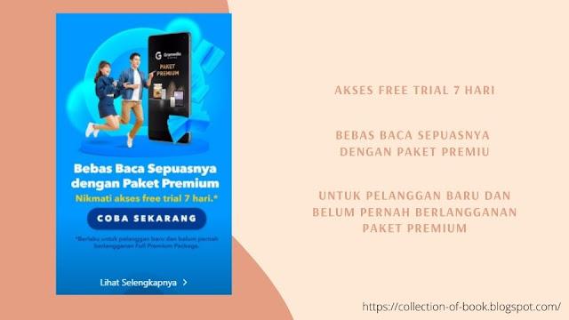 Paket premium Gramedia digital